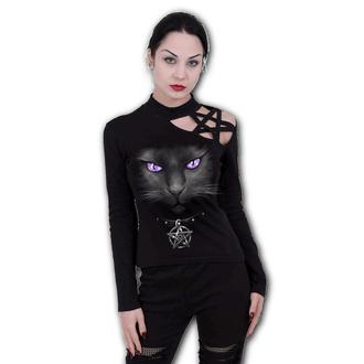 t-shirt pour femmes - BLACK CAT - SPIRAL, SPIRAL