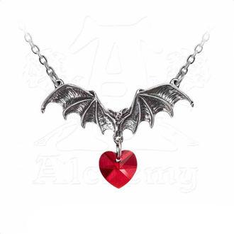 Collier ALCHEMY GOTHIC - Vampire Love Heart, ALCHEMY GOTHIC