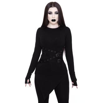 T-shirt à manches longues KILLSTAR pour femmes - Vampyre Long Sleeve Top, KILLSTAR
