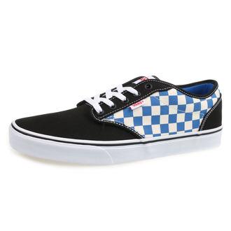 chaussures de tennis basses pour hommes - MN ATWOOD (CHECKERBOAR) - VANS, VANS