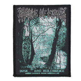 Patch Cradle Of Filth - Dusk And Her Embrace - RAZAMATAZ, RAZAMATAZ, Cradle of Filth