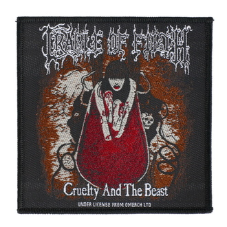 Patch Cradle Of Filth - Cruelty And The Beast - RAZAMATAZ, RAZAMATAZ, Cradle of Filth