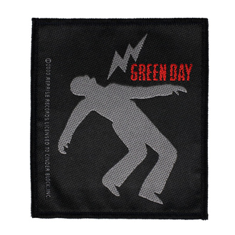 Patch Green Day - Lightning Bolt - RAZAMATAZ, RAZAMATAZ, Green Day