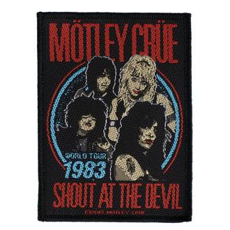 Patch Mötley Crüe - Shout At The Devil - RAZAMATAZ, RAZAMATAZ, Mötley Crüe