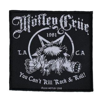 Patch Mötley Crüe - You Can't Kill Rock N Roll - RAZAMATAZ, RAZAMATAZ, Mötley Crüe