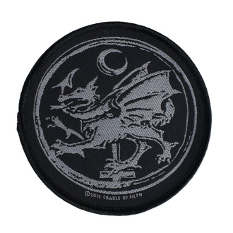 Patch Cradle Of Filth - Order Of The Dragon - RAZAMATAZ, RAZAMATAZ, Cradle of Filth