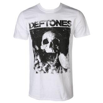 t-shirt hommes DEFTONES - SKULL - BLANC - PLASTIC HEAD, PLASTIC HEAD, Deftones