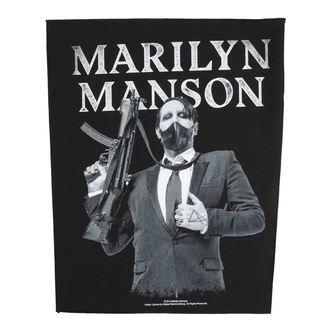 Grand Écusson Marilyn Manson - Machine Gun - RAZAMATAZ - BP1099