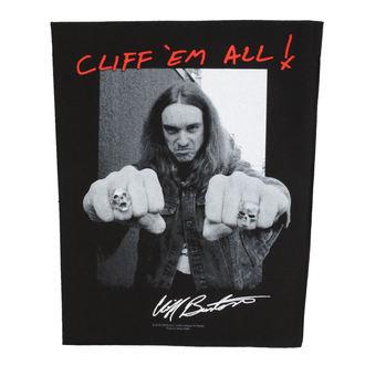Grand Écusson Metallica - Cliff Em All - RAZAMATAZ, RAZAMATAZ, Metallica