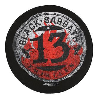 grand patch BLACK SABBATH - 13 CIRCULAR - RAZAMATAZ, RAZAMATAZ, Black Sabbath