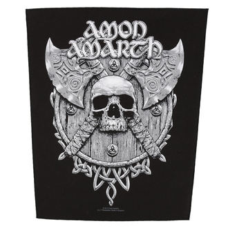 grand patch AMON AMARTH - SKULL AND AXES - RAZAMATAZ, RAZAMATAZ, Amon Amarth