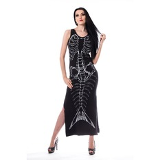 Robe femmes Heartless - VENLA - NOIR, HEARTLESS