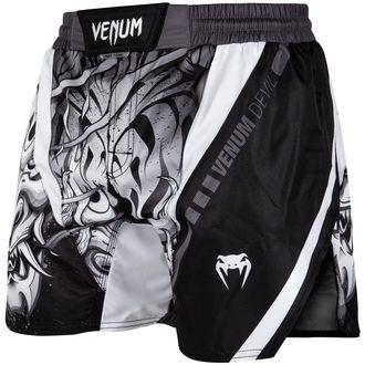 Short de Boxe (short de combat) VENUM - Devil - blanc / Noir, VENUM