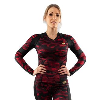 T-shirt à manches longues (thermique) pour femmes VENUM - Defender - Rashguard - Noir / rouge, VENUM