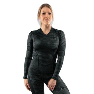 T-shirt à manches longues (thermique) pour femmes VENUM - Defender - Rashguard - Noir / Noir, VENUM