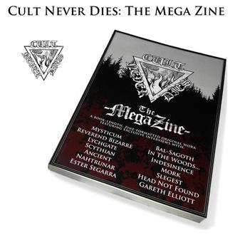Livre Cult Never Dies: The Mega Zine (signé), CULT NEVER DIE