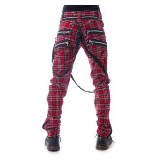 Pantalon pour homme VIXXSIN - VINCENT - TARTAN ROUGE, VIXXSIN
