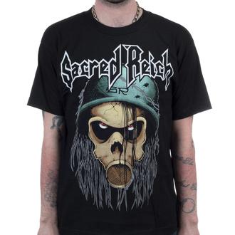 T-shirt Sacred Reich pour hommes - Violent Solutions - Noir - INDIEMERCH, INDIEMERCH, Sacred Reich