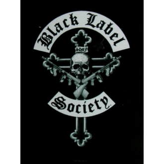 drapeau Black Label Society - Crucifix, HEART ROCK, Black Label Society