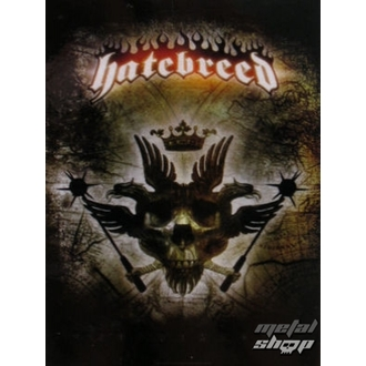 drapeau Hatebreed - Aigle, HEART ROCK, Hatebreed