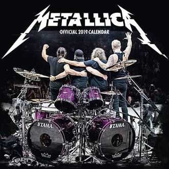 Calendrier 2019 - METALLICA, Metallica