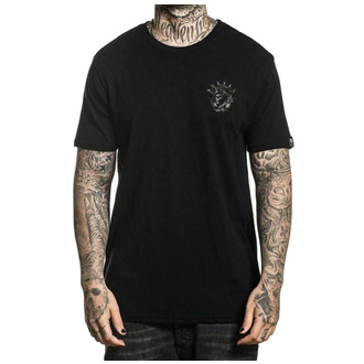 T-shirt pour hommes SULLEN - ROUGH WATERS - NOIR, SULLEN