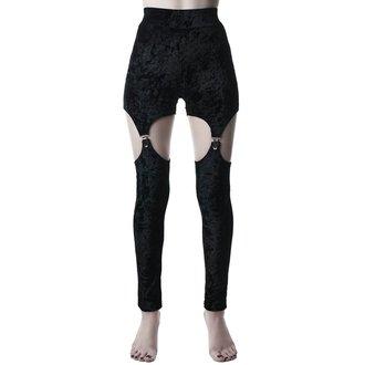 Pantalon pour femmes KILLSTAR - Nina - NOIR, KILLSTAR