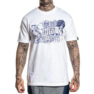 T-shirt SULLEN pour hommes - ALESTRA - BLANC, SULLEN