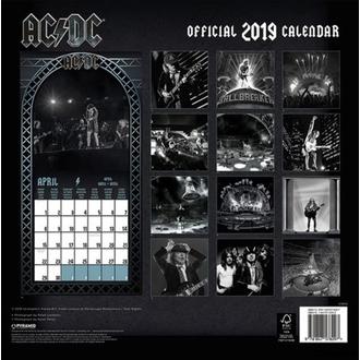 Calendrier 2019 AC / DC, NNM, AC-DC