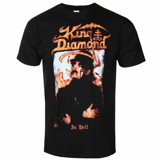 t-shirt pour homme King Diamond - In Hell, NNM, King Diamond