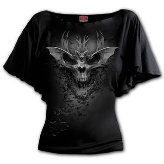 t-shirt pour femmes - BAT SKULL - SPIRAL, SPIRAL