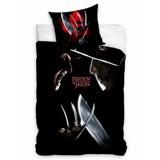 Linge de lit Freddy contre Jason - WARNER BROS - HORROR, NNM, Freddy vs. Jason