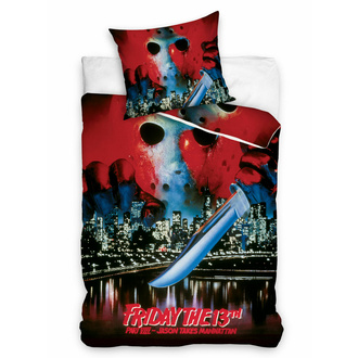 Linge de lit Friday The 13th - WARNER BROS - HORROR, NNM, Friday the 13th