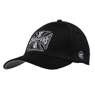 Casquette WEST COAST CHOPPERS - OG CROSS AUSTIN - Noir, West Coast Choppers
