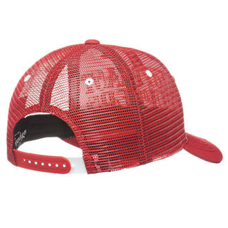 Casquette WEST COAST CHOPPERS - CLUTCH LOGO ROUND BILL - Rouge, West Coast Choppers