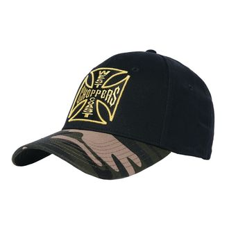 Casquette WEST COAST CHOPPERS - CAMO WARRIOR - Noir, West Coast Choppers