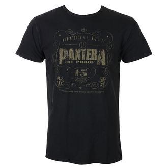 tee-shirt métal pour hommes Pantera - 101% Proof Vintage - ROCK OFF, ROCK OFF, Pantera