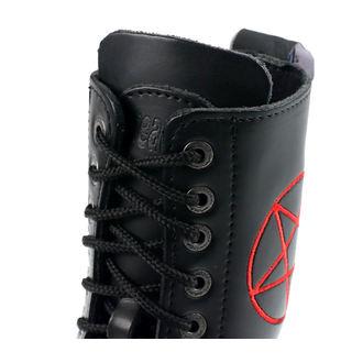 bottes en cuir unisexe - STEADY´S - STE/10/H_pentagram red