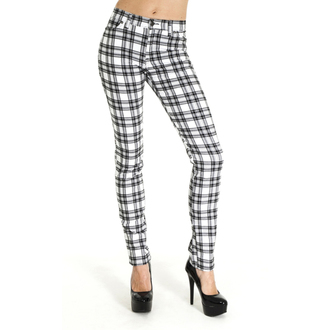 pantalon (unisexe) 3RDAND56th - CHECKED SKINNY JEANS, 3RDAND56th