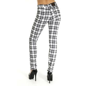 pantalon (unisexe) 3RDAND56th - CHECKED SKINNY JEANS - JM1455