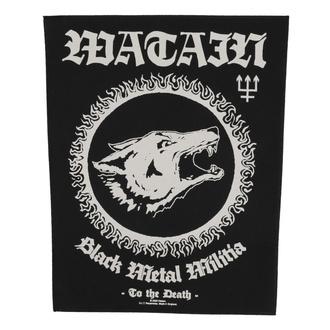 Grand patch Watain - Black Metal Militia - RAZAMATAZ, RAZAMATAZ, Watain