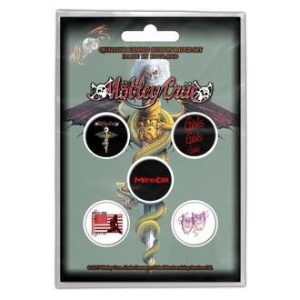 Badges Mötley Crüe - DR FEELGOOD - RAZAMATAZ, RAZAMATAZ, Mötley Crüe