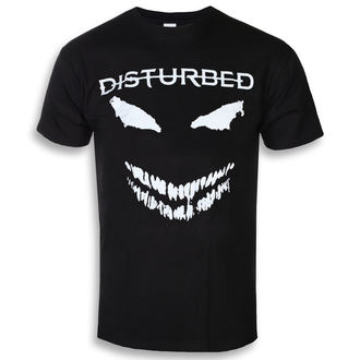tee-shirt métal pour hommes Disturbed - Scary Face - ROCK OFF, ROCK OFF, Disturbed