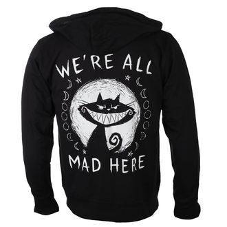 sweat-shirt avec capuche unisexe - We're All Mad Here - Akumu Ink, Akumu Ink