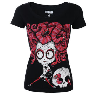 t-shirt hardcore pour femmes - Medusa In Love Scoop - Akumu Ink, Akumu Ink