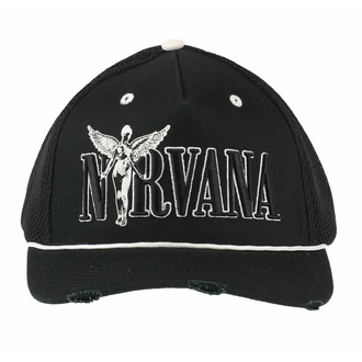 Casquette NIRVANA - IN-UTERO MONOCHROME - AMPLIFIED, AMPLIFIED, Nirvana
