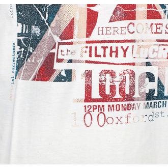 tee-shirt métal pour hommes Sex Pistols - 100 Club - ROCK OFF, ROCK OFF, Sex Pistols