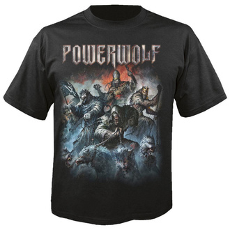 T-shirt pour hommes POWERWOLF - Best of the blessed - NUCLEAR BLAST, NUCLEAR BLAST, Powerwolf