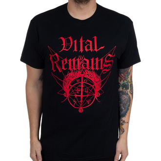 T-shirt Vital Remains pour hommes - Where Is Your God Now - Noir - INDIEMERCH, INDIEMERCH, Vital Remains