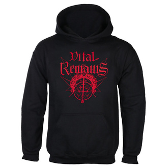 Sweat à capuche Vital Remains pour hommes - Where Is Your God Now - Noir - INDIEMERCH, INDIEMERCH, Vital Remains